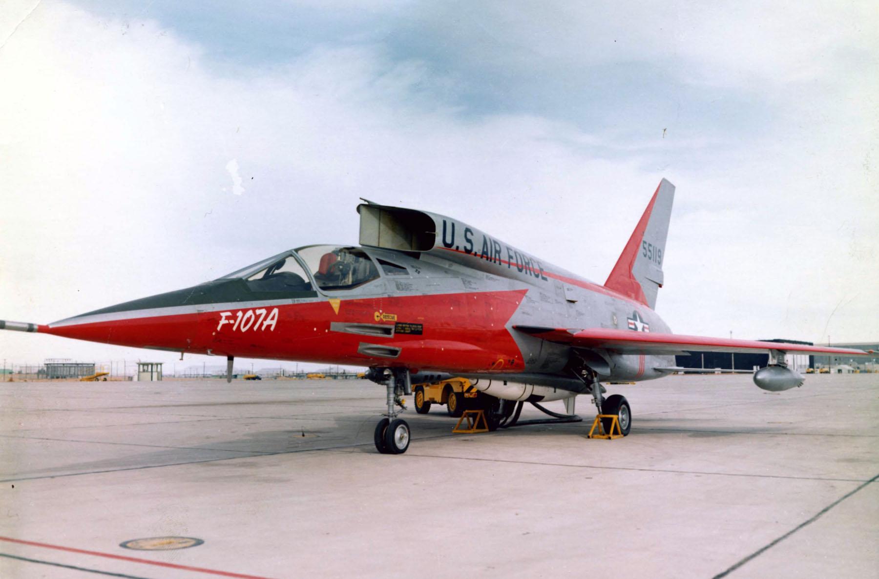 North American F-107A S/N 55-5119