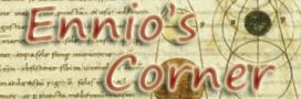Ennio\'s Corner