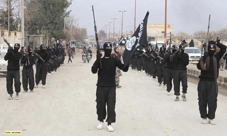 Miliziani dell'ISIS, probabilmente 2015