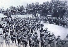 Arrivo a Villafranca del 332nd Regiment